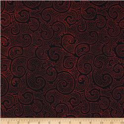Tonga Batik Rising Sun Dot Scroll Luck