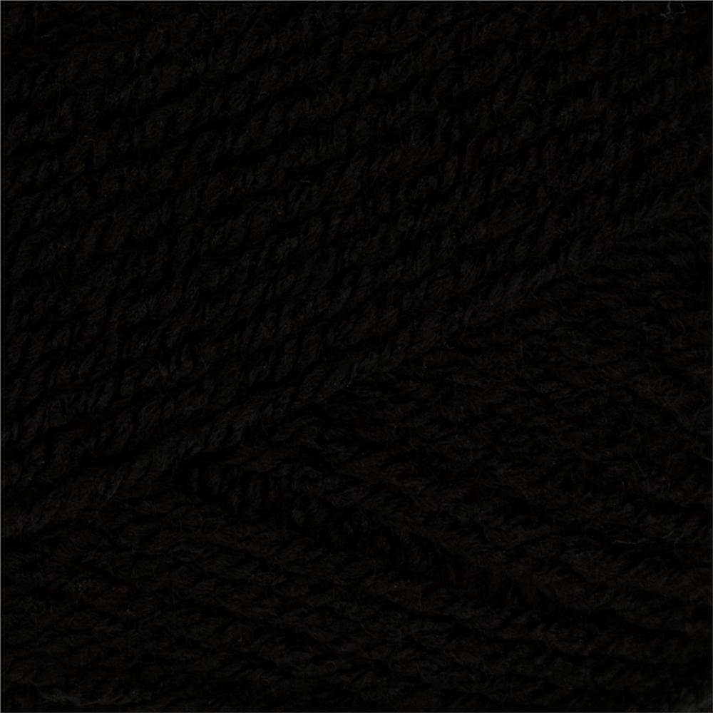 Lion Brand Vanna&#39;s Sequins Yarn (153) Midnight