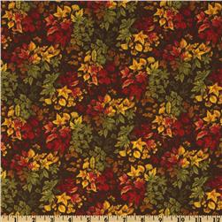 Moda Foliage Leaf Bouquet Brown