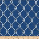 0282094 Waverly Sun N Shade Square Knots Marine