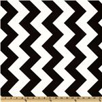 Riley Blake Chevron Large Black