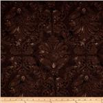 Bella Verona Heartfelt Home Damask Brown