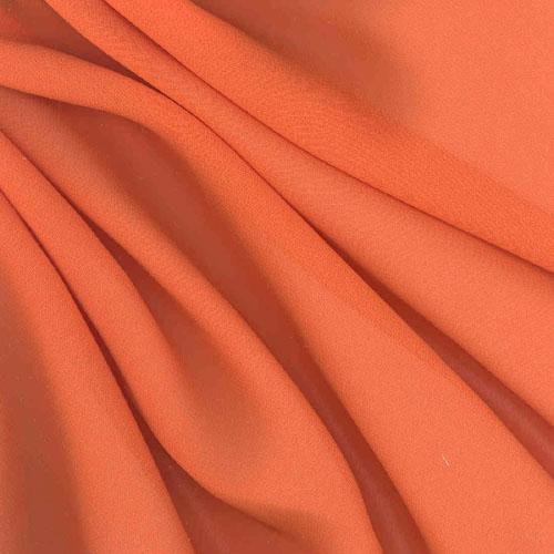 Chiffon Fabric Tangerine