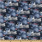 DL-960 NFL Cotton Broadcloth New England Patriots Blue