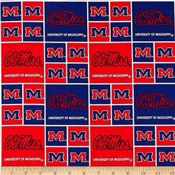 Collegiate Cotton Broadcloth Mississippi Red