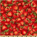 FF-170 Fresh Strawberries Strawberry Red