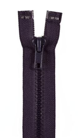 "Sport Separating Zipper 18"" Navy"
