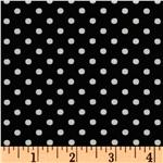 Crazy for Dots &amp; Stripes Dottie Black/White