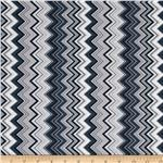 0285391 Chevron Chic Packed Chevron Grey