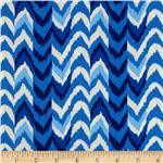 Waverly Living Color Chevron Stripe Twill Luna