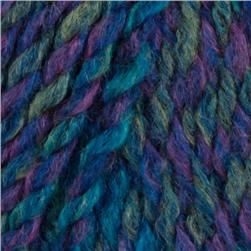 Lion Brand Tweed Stripes Yarn (205) Caribbean