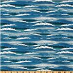 Sea Quilts Waves Blue
