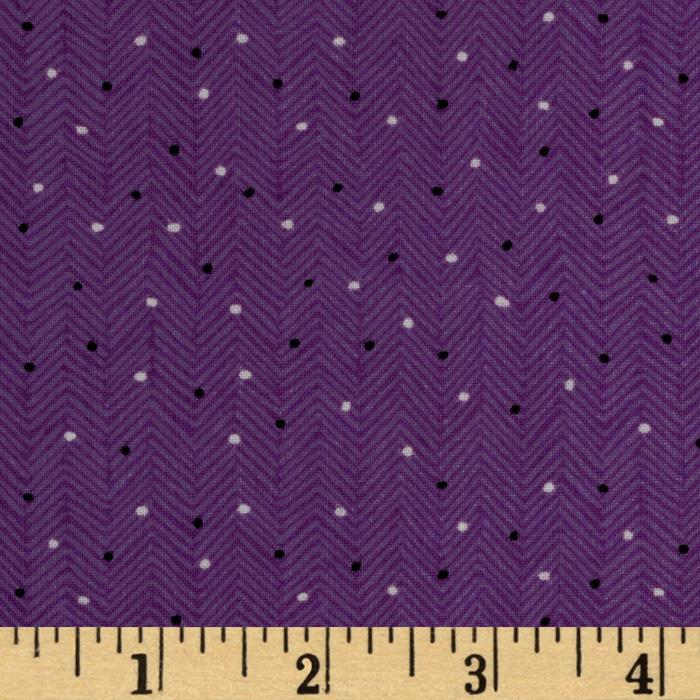 Folk Song Dotted Blender Purple