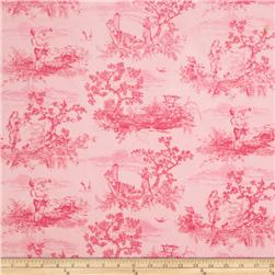 Timeless Treasures Toile Pink
