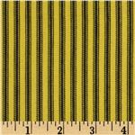 Wild Twill Ticking Stripes Yellow