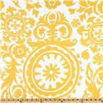UH-217 Premier Prints Suzani Slub Yellow/White