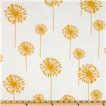 UK-744 Premier Prints Indoor/Outdoor Dandelion White/Yellow