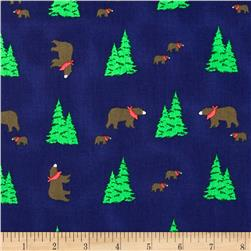 Take a Hike Bears & Trees Navy