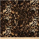 0265230 Safari Shimmer Stretch ITY Knit Animel Mix Speckle Gold/Natural