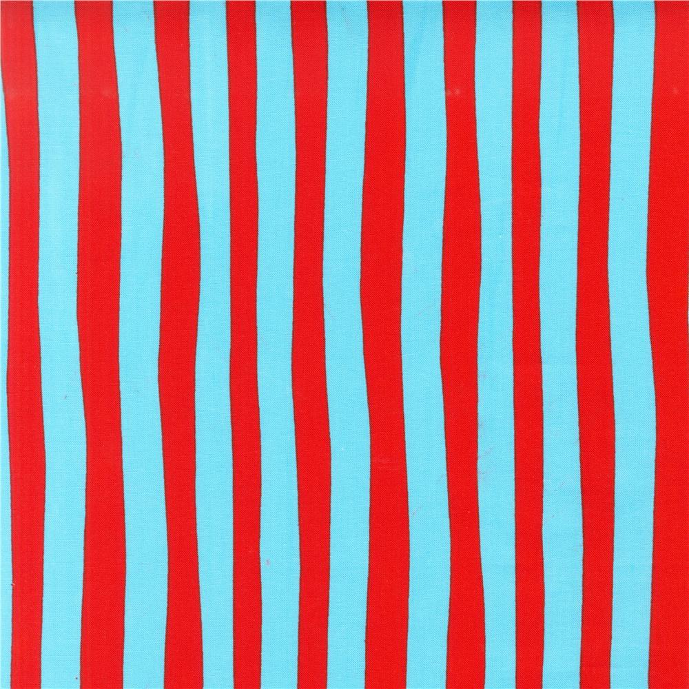 Celebrate Seuss! Squiggle Stripe Red/Blue