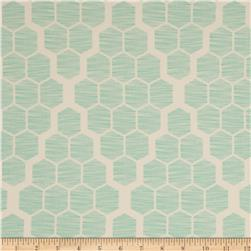 Joel Dewberry Bungalow Home Decor Sateen Hive Mint
