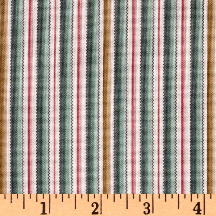 Juliet's Song Pinking Stripe Slate