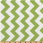 FO-209 Riley Blake Chevron Medium Green