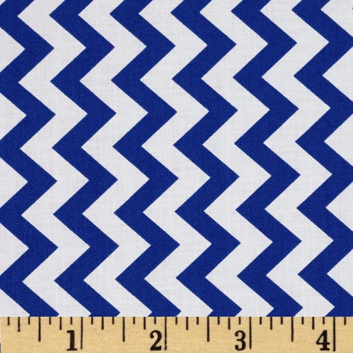 Chevron Chic Simple Chevron Navy