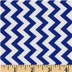 0285403 Chevron Chic Simple Chevron Navy