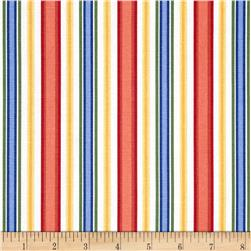 Madison Delaney Stripes Ivory/Blue