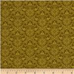 Regency Mini Brocade Light Green