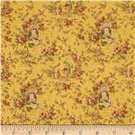 Desired Things Floral Garden Yellow