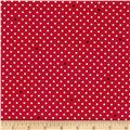 Cynthia Rowley Paintbox Pin Dot Red