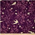 Joel Dewberry Bungalow Swallow Study Lavender