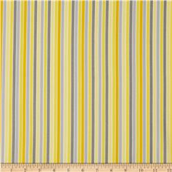 Gray Matters Stripe Grey/Yellow