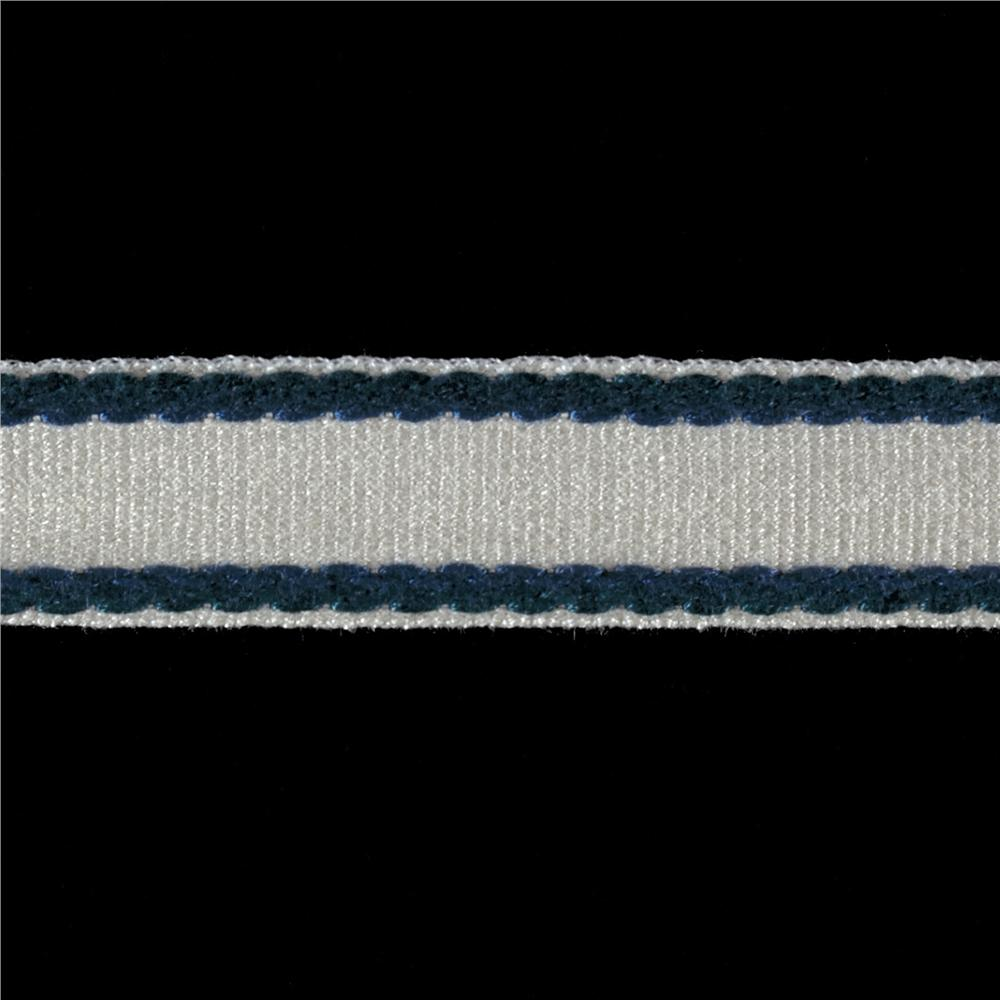 "Duralee 1"" Border Tape Lake Blue"
