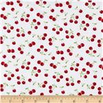 Jessie Steele Collection Cherries White