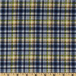 Northern Exposure Flannel Plaid Blue/Green