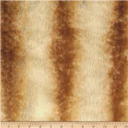 Luxury Faux Fur White/Orange