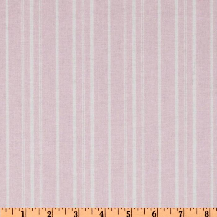 Treasures by Shabby Chic Wildflowers Stripes Pink