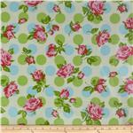 0281938 Tanya Whelan Sugar Hill Laminated Cotton Falling Rose Ivory