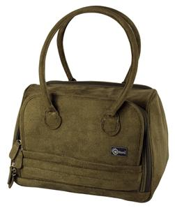 Creative Options Soft Sided Large Olive Tonal Tote Craft Organizer