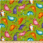 217671 Moda Prisma Cats Meow Kitties Lime