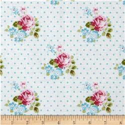 Tanya Whelan Sunshine Roses Hanky Rose Blue