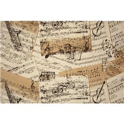 Creations Sheet Music Natural/Black
