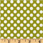 Riley Blake Little Matryoshka Dots Green