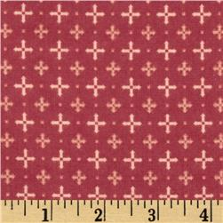Nordica Flannel Crosses Berry