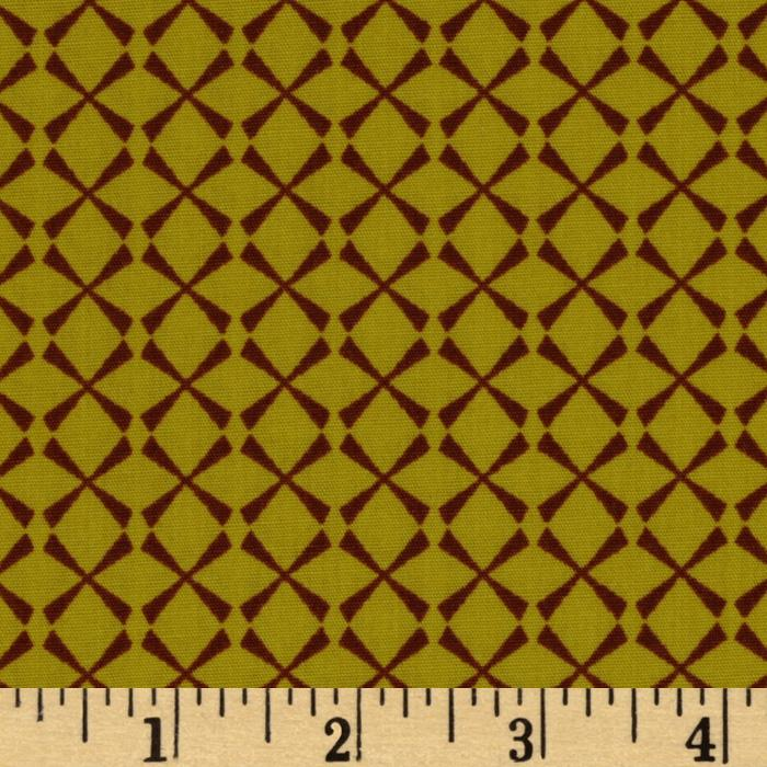 Retro-Spective Collection Diamonds Yellow/Brown