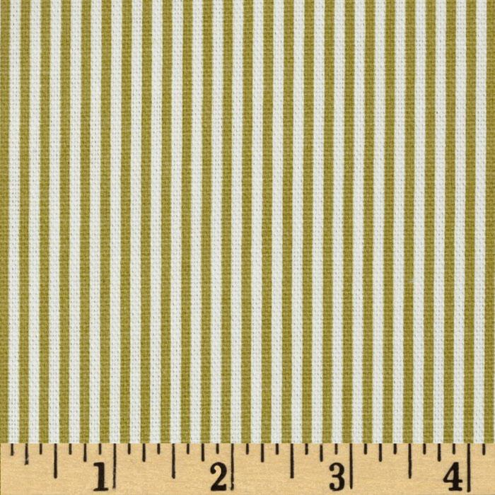 Magnolia Home Fashions Oxford Stripe Pasture Green