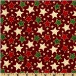 Christmas 2012 Classic Patterned Star Red